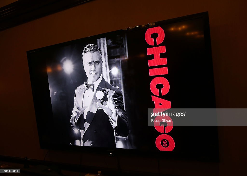 Ambiance as Jaime Camil meets the press and prepares to join 'Chicago' on Broadway as 'Billy Flynn' (from May 31- July 3) at The Algonquin Hotel on May 26, 2016 in New York City.