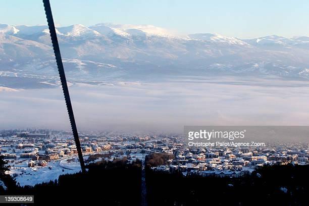 Ambiance during the Audi FIS Alpine Ski World Cup Men's Slalom on February 19 2012 in Bansko Bulgaria