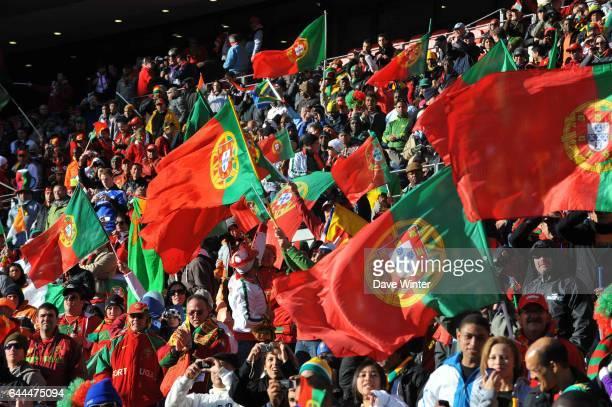 Ambiance / Supporter Portugal Cote d'Ivoire / Portugal Coupe du Monde 2010 Match 13 Groupe G Nelson Mandela Bay Stadium Port Elizabeth Afrique du Sud...