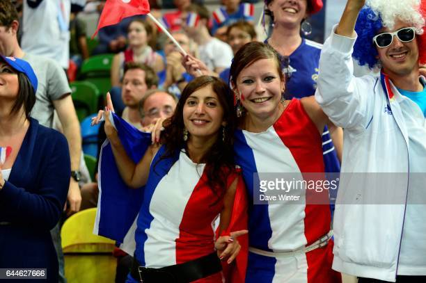 Ambiance supporters France / Suede Jeux Olympiques Londres 2012 Photo Dave Winter / Icon Sport