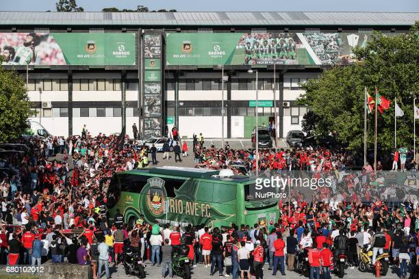 Ambient during the Premier League 2016/17 match between Rio Ave and SL Benfica at Arcos Stadium in Vila do Conde on May 7 2017