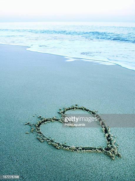 Une ambiance zen: Amour sur le sable