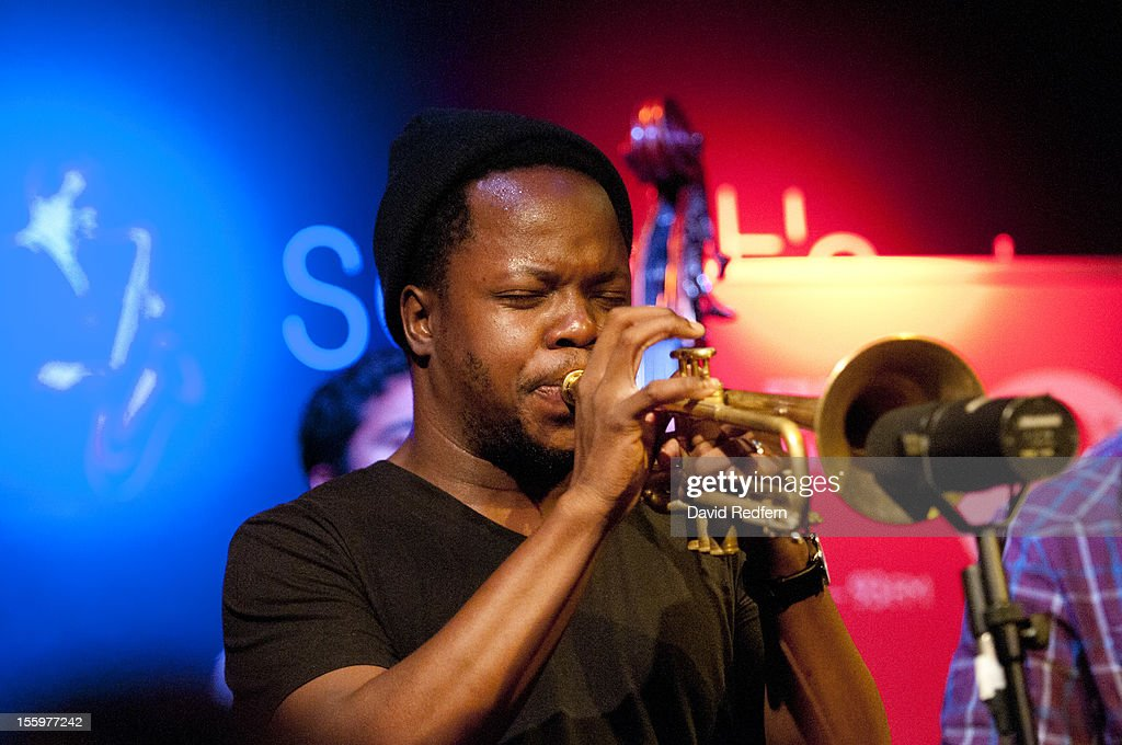 Ambrose Akinmusire performs on stage at Ronnie Scotts for the London Jazz Festival Jazz on 3 Special on November 9, 2012 in London, United Kingdom.