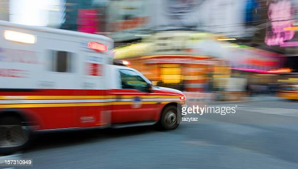 Ambulance Abstract