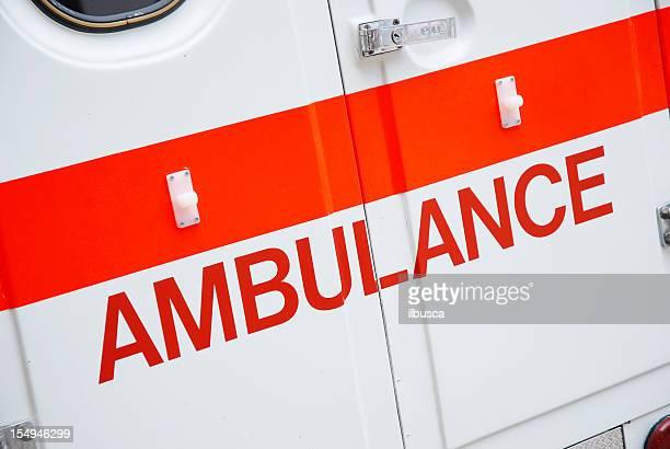 Ambulance porte arrière