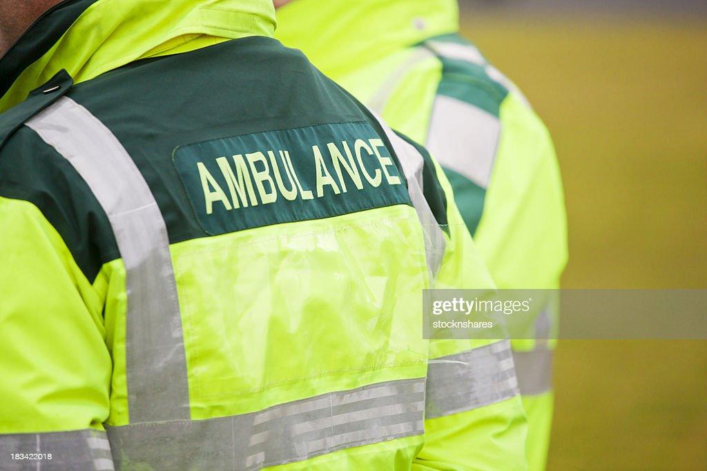 Ambulance Staff in Attendance