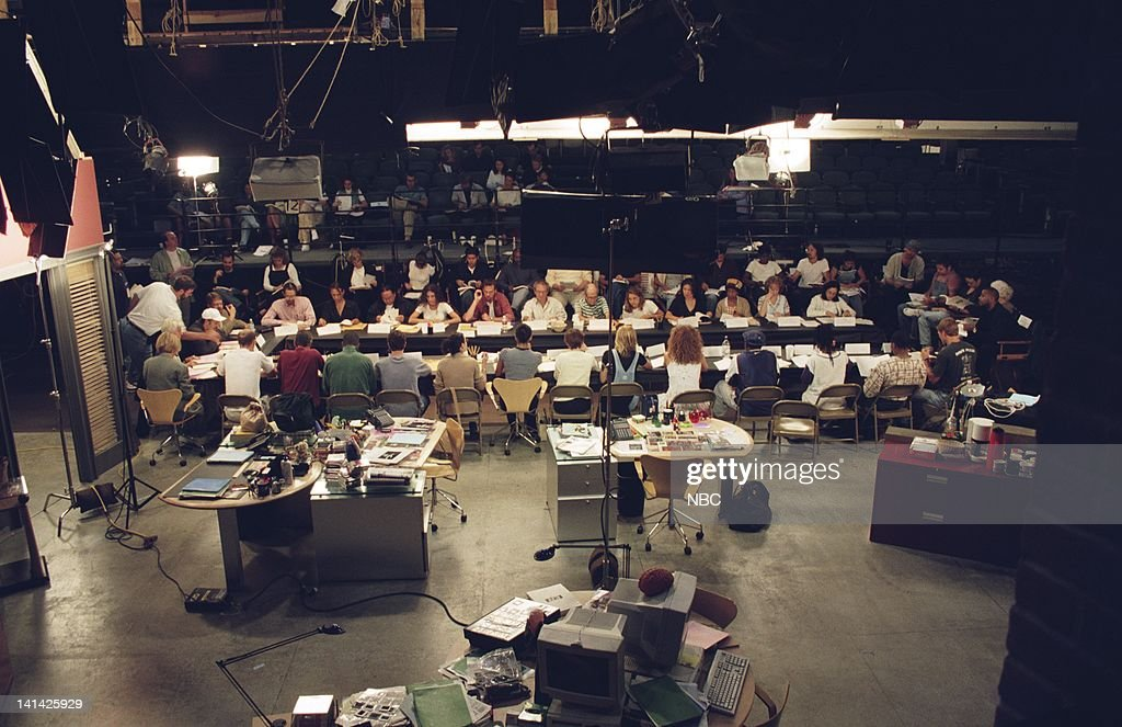 ER 'Ambush Table Read' Episode 1 Air Date Pictured Cast during table read for the Live episode 'Ambush' Photo by Paul Drinkwater/NBCU Photo Bank