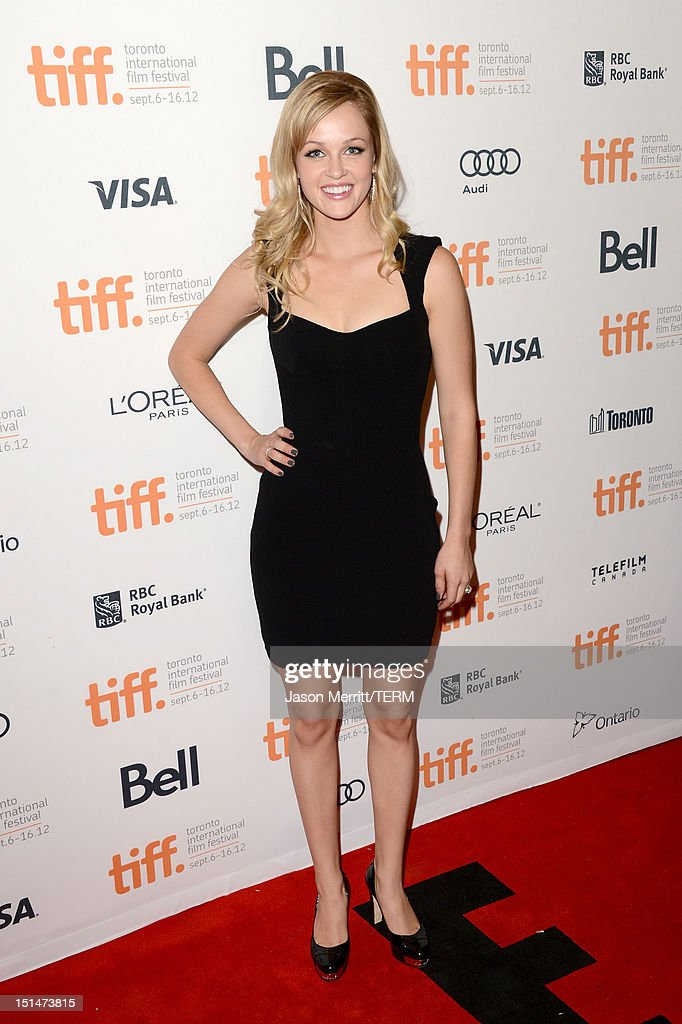 Ambyr Childers attends 'The Master' Premiere during the 2012 Toronto International Film Festival at Princess of Wales Theatre on September 7, 2012 in Toronto, Canada.