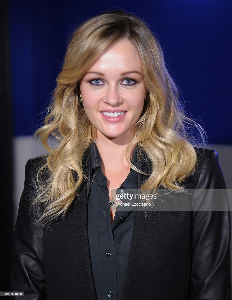 Ambyr Childers attends The Samsung Galaxy Lounge Hosts Cast Dinners for 'Touchy Feely' and 'We Are What We Are' at Village At The Lift 2013 on January 18, 2013 in Park City, Utah.