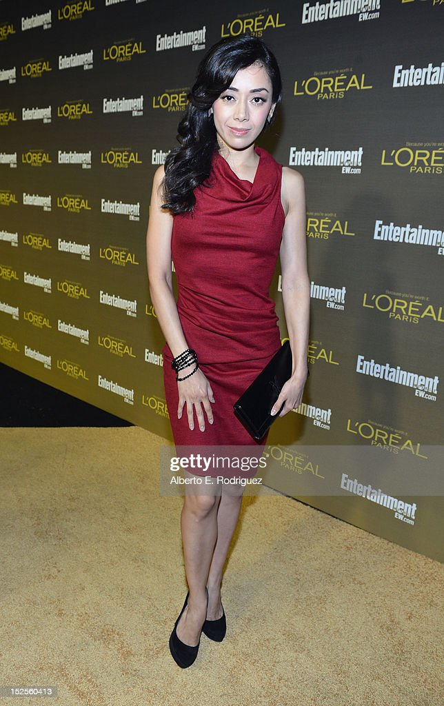 Amee Garcia attends The 2012 Entertainment Weekly Pre-Emmy Party Presented By L'Oreal Paris at Fig & Olive Melrose Place on September 21, 2012 in West Hollywood, California.