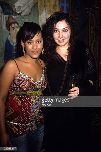 Amel Bent and Mary de Vivo