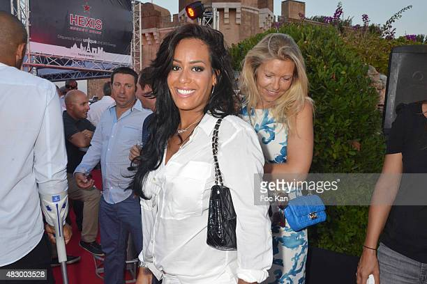 Amel Bent attends the 'Fight Night 2015' Gala Show at La Citadelle de Saint Tropez on on August 4 2015 in SaintTropez France