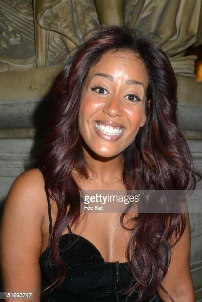 Amel Bent attends the 'Symphonia' George Michael Concert in Benefit of Sidaction at Opera Garnier on September 9 2012 Paris France