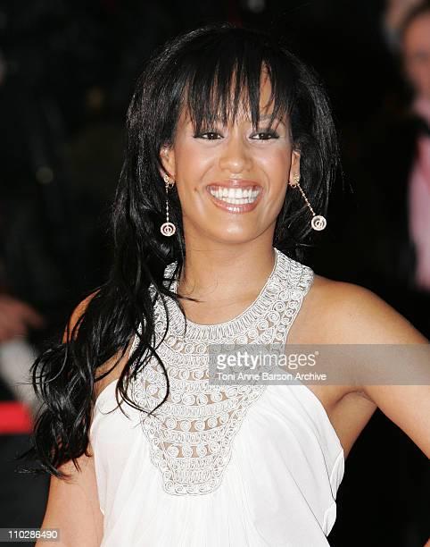 Amel Bent during 2006 NRJ Music Awards Arrivals at Palais des Festivals in Cannes France
