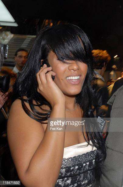 Amel Bent during Adidas Paris Store Opening October 24 2006 at Adidas Store in Paris France
