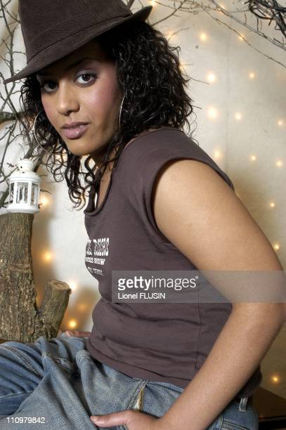 Amel Bent in Geneve Switzerland on February 21th 2005