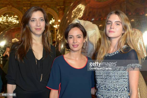 Amel Chaabi and Dolores Doll attend the Paule Ka Presentation as part of the Paris Fashion Week Womenswear Fall/Winter 2017/2018 at Hotel...
