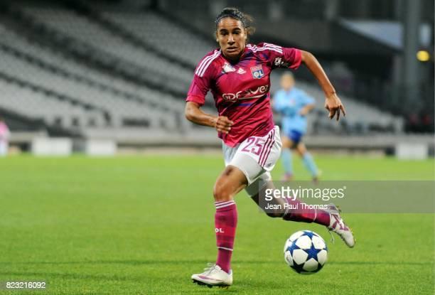 Amel MAJRI Lyon / Cluj Champions league Feminines
