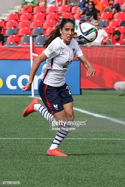Amel Majri of France chases the ball during the FIFA Women's World Cup Canada 2015 Group F match between Mexico and France at Lansdowne Stadium on...