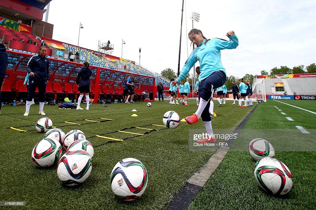 France: Training - FIFA Women's World Cup 2015