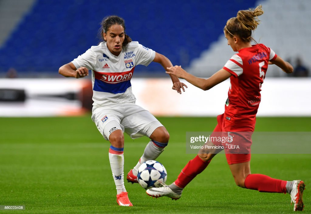 Lyon vs Medyk Konin -  UEFA Women's Champions League Round of 32: Second Leg