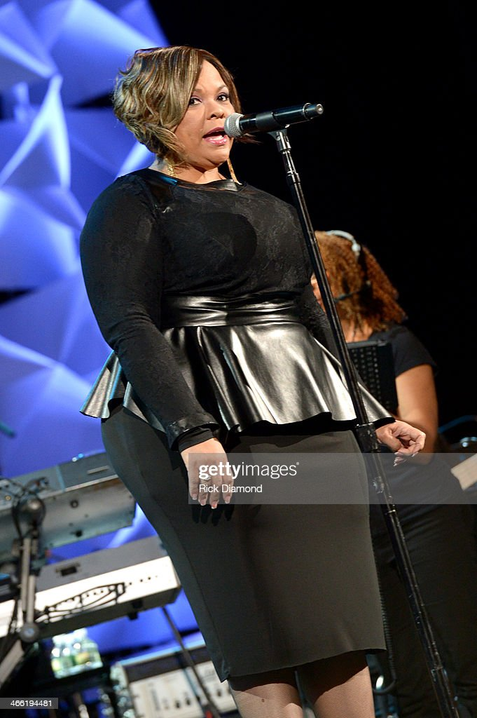 T amela Mann performs onstage at the Super Bowl Gospel Celebration 2014 at The Theater at Madison Square Garden on January 31, 2014 in New York City.