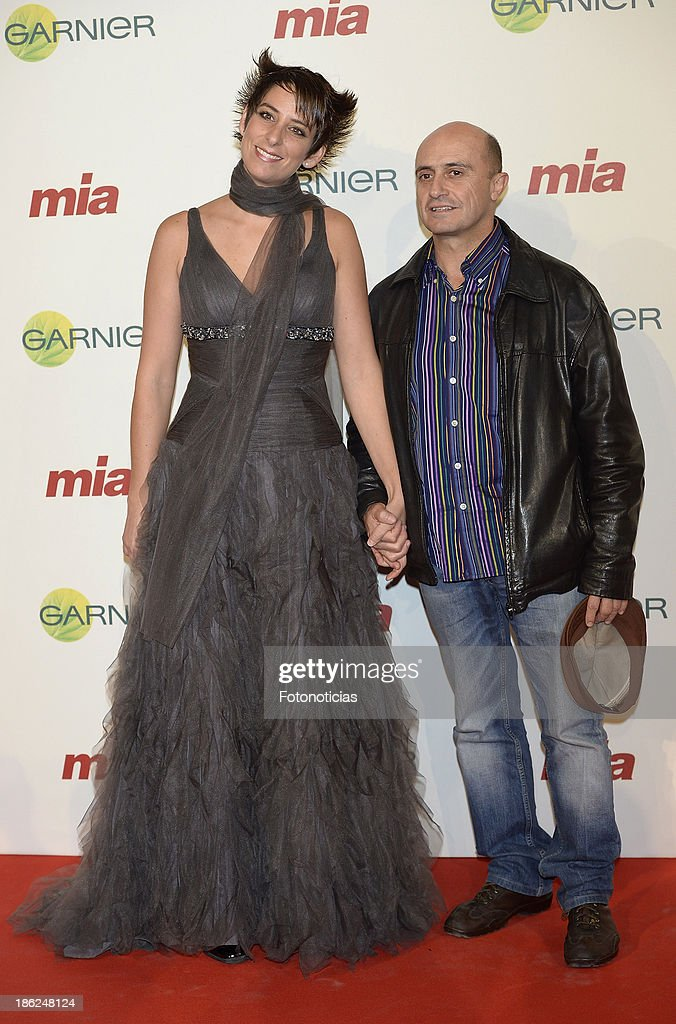 Ameli and Pepe Viyuela attend Mia magazine 'Cuida de Ti' 2013 Awards at Calderon theater on October 29, 2013 in Madrid, Spain.