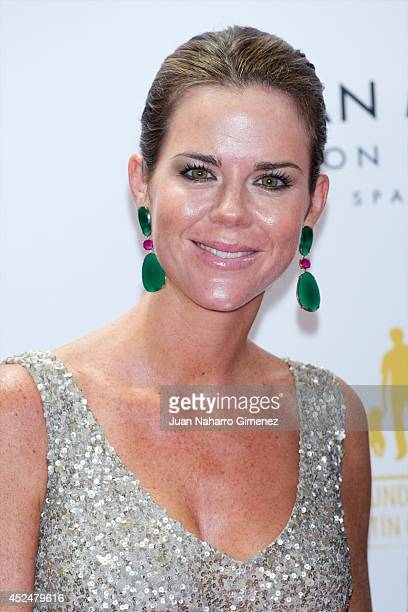 Amelia Bono attends Global Gift Gala 2014 at Melia Don Pepe Hotel on July 20 2014 in Marbella Spain