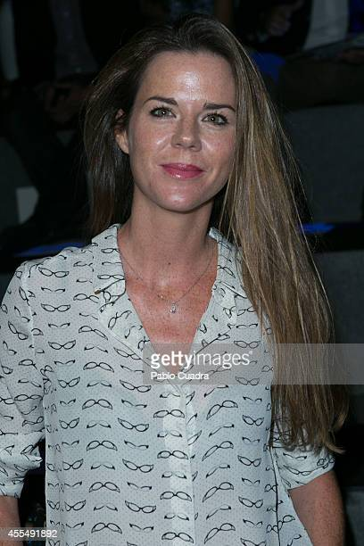 Amelia Bono attends Mercedes Benz Fashion Week Madrid at Ifema on September 15 2014 in Madrid Spain