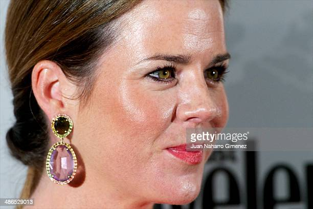 Amelia Bono attends the Conde Nast Traveler Awards 2014 at the Jardines de Cecilio Rodriguez on April 24 2014 in Madrid Spain