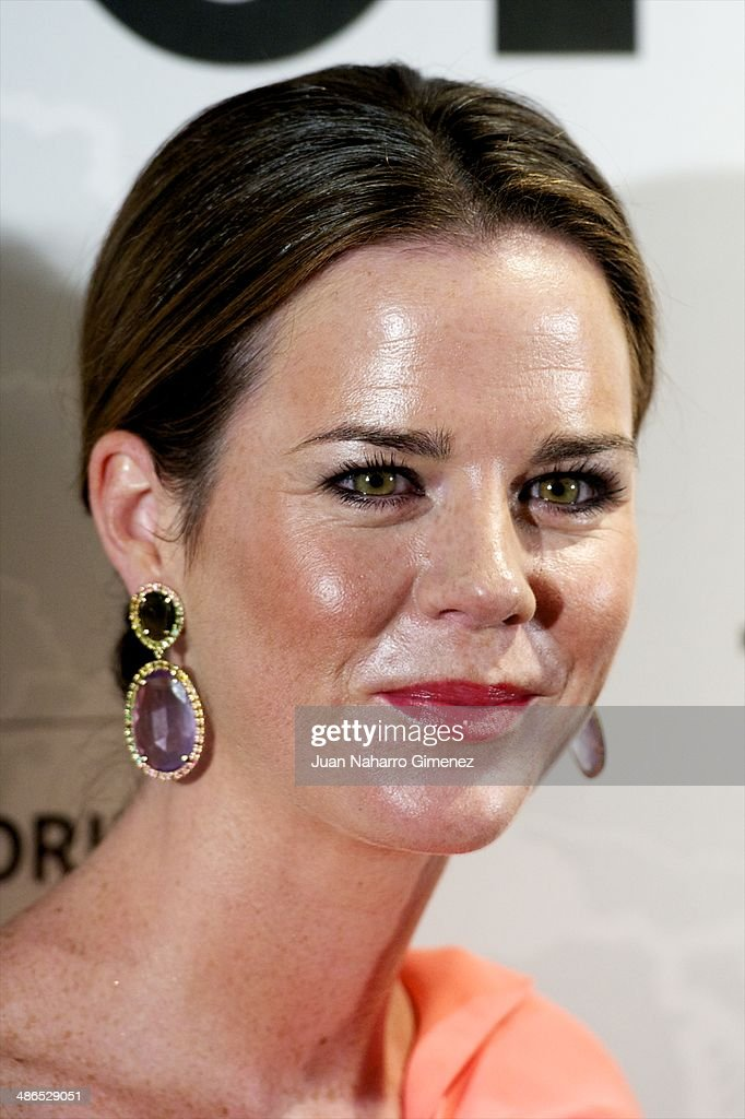 Amelia Bono attends the Conde Nast Traveler Awards 2014 at the Jardines de Cecilio Rodriguez on April 24, 2014 in Madrid, Spain.