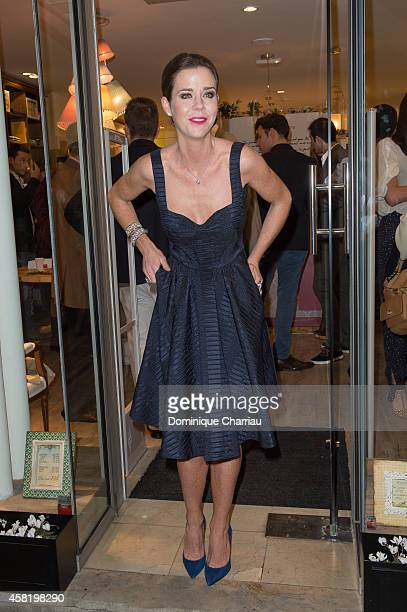 Amelia Bono attends the 'Dolores Promesas' Opening Store in Paris on October 31 2014 in Paris France
