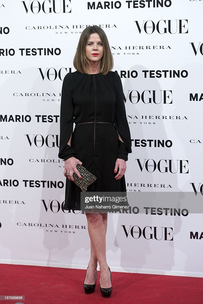 Amelia Bono attends the presentation launch of the Vogue December issue at Fernan Nunez Palace on November 27, 2012 in Madrid, Spain.