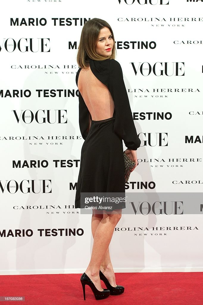 Amelia Bono attends the Vogue & Mario Testino party at Fernan Nunez Palace on November 27, 2012 in Madrid, Spain.