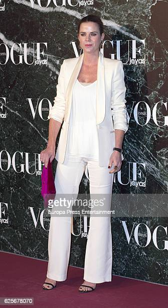 Amelia Bono attends 'Vogue joyas' awards at Santona Palace on November 24 2016 in Madrid Spain