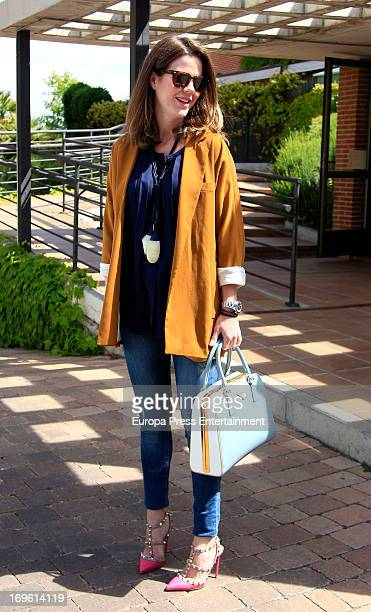 Amelia Bono is seen going for shopping on May 28 2013 in Madrid Spain