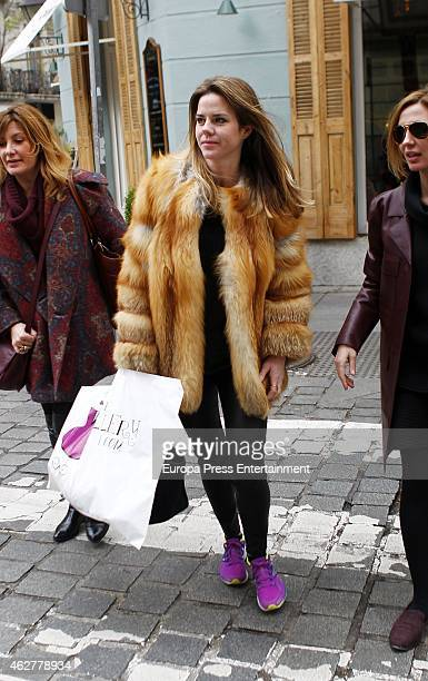 Amelia Bono is seen on February 3 2015 in Madrid Spain
