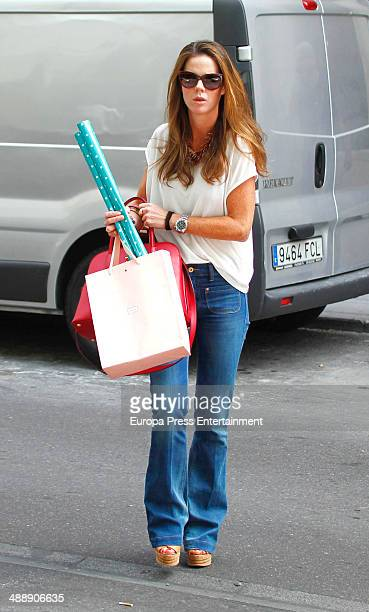 Amelia Bono is seen on May 8 2014 in Madrid Spain