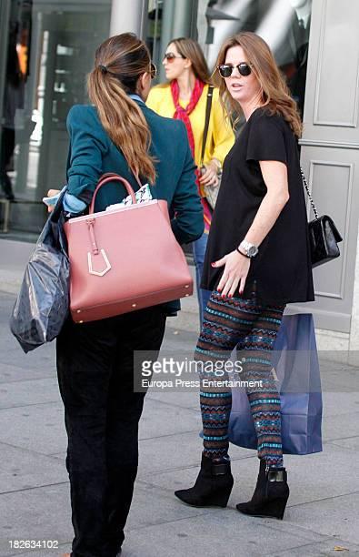 Amelia Bono is seen on October 1 2013 in Madrid Spain