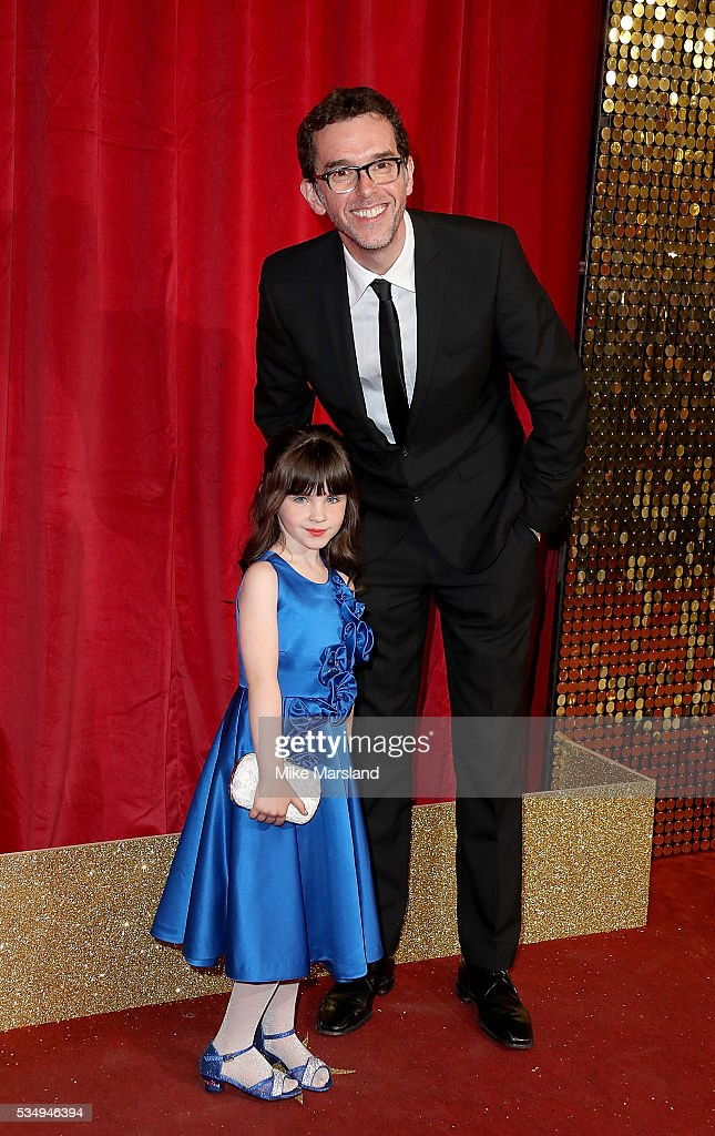 Amelia Flanagan and Mark Charnock attend the British Soap Awards 2016 at Hackney Empire on May 28, 2016 in London, England.