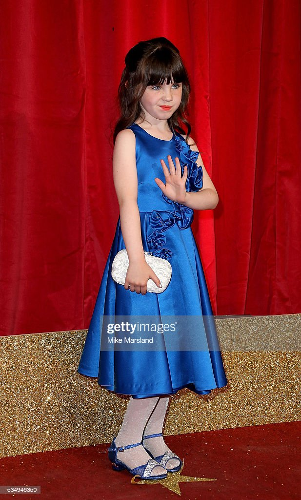Amelia Flanagan attends the British Soap Awards 2016 at Hackney Empire on May 28, 2016 in London, England.
