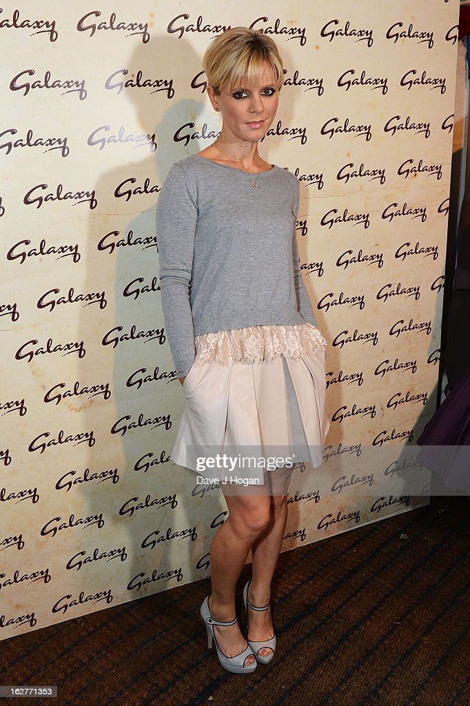 Amelia Fox attends the Galaxy Pop Up Drive-In Cinema at The Doon Street Car Park on February 26, 2013 in London, England.
