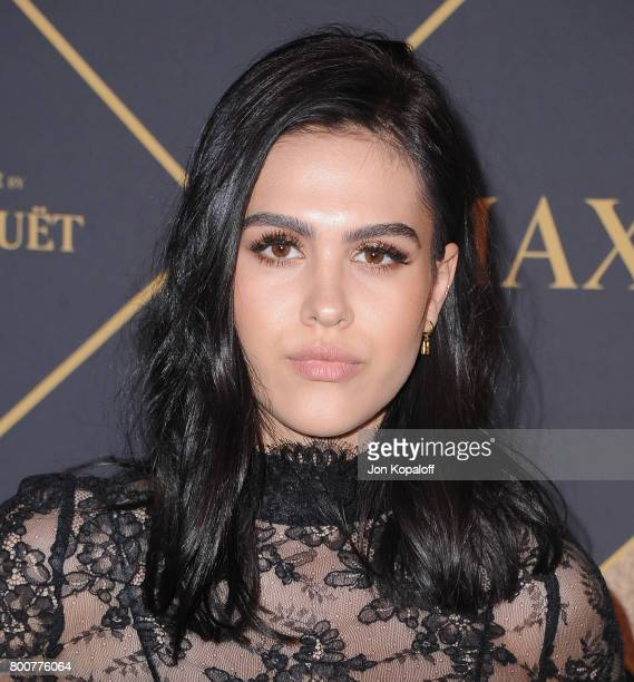 Amelia Gray Hamlin arrives at The 2017 MAXIM Hot 100 Party at Hollywood Palladium on June 24 2017 in Los Angeles California