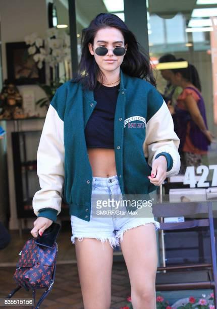 Amelia Gray Hamlin is seen on August 18 2017 in Los Angeles California