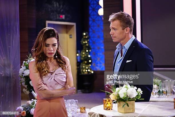 Amelia Heinle and Michael Roark on the CBS series THE YOUNG AND THE RESTLESS scheduled to air on the CBS Television Network