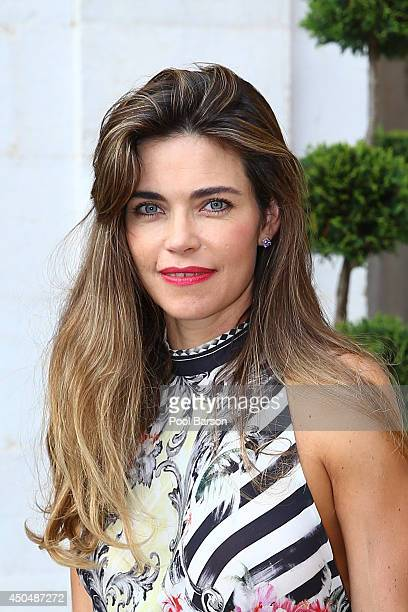 Amelia Heinle attends a Cocktail Reception at Monaco Palace on June 9 2014 in MonteCarlo Monaco