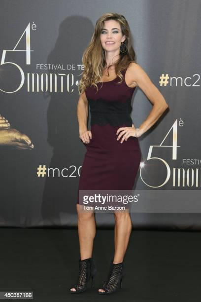 Amelia Heinle attends 'The Young and The Restless' Photocall on June 9 2014 in MonteCarlo Monaco