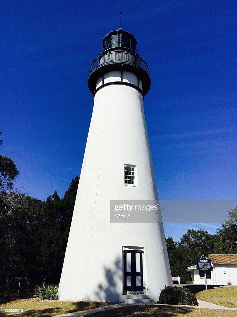 Amelia Island Lighthouse : Stock Photo