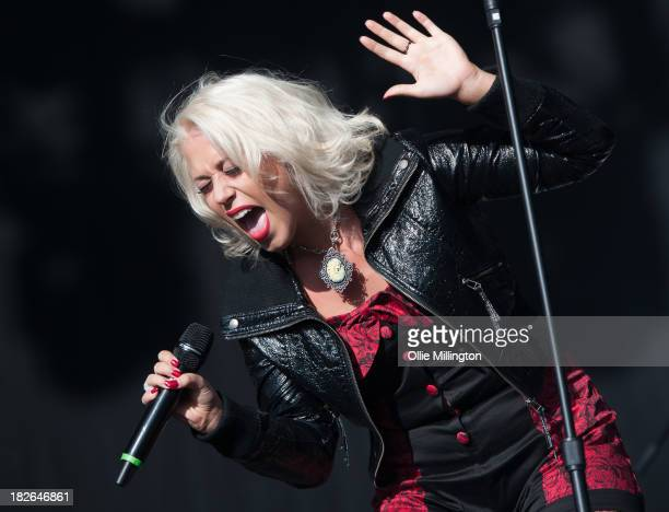 Amelia Lilly performs on stage on Day 2 of Fusion Festival 2013 at Cofton Park on September 1 2013 in Birmingham England