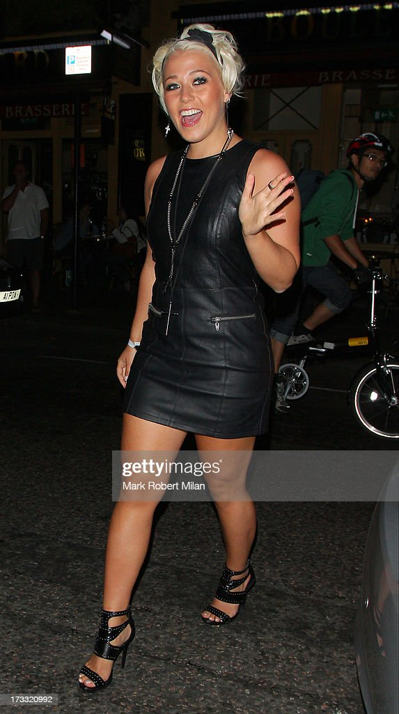 Amelia Lily attending the Infiniti Gate Experience party on July 11, 2013 in London, England.